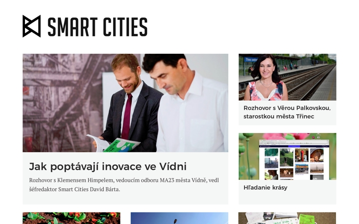 smartcities web screenshot